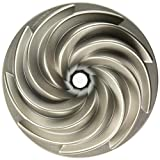 Ware Platinum Collection Heritage Bundt Pan, Silver - 1