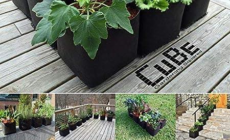 Victory 8 Garden Kit pie Cuadrado Cubo envase del pote del jardín ...