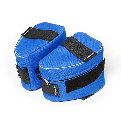 Julius-K9 1622NT-IDC-B 1 Pair IDC side bags for Power Harness, Size 1-2, Blue by Julius-K9