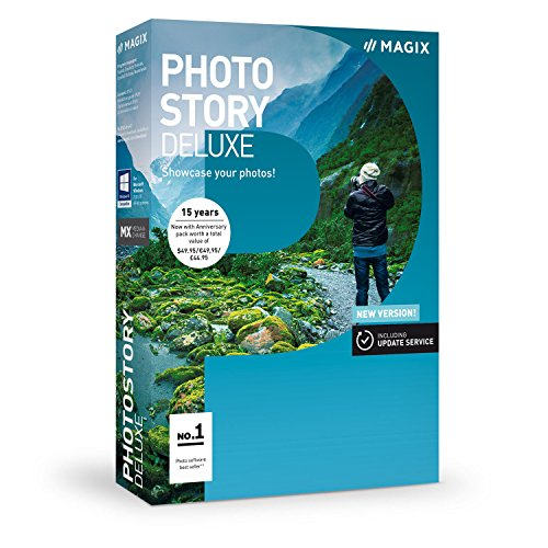 MAGIX Photostory Deluxe - Version 2018: Create slideshows the easy way