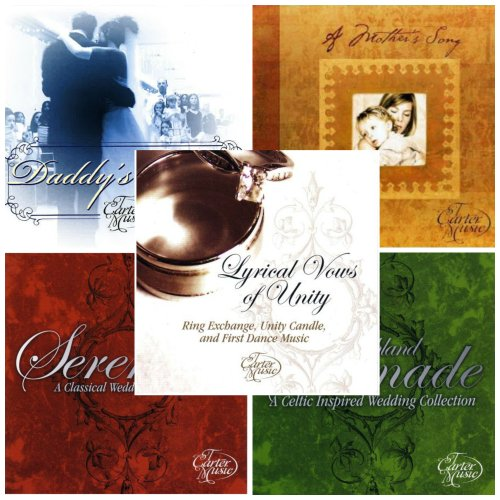 - Wedding Music CD Package: Featuring Wedding songs for the Prelude, Processional, special Ceremony songs, First Dance, Father Daughter Dance, Mother Son Dance, & more! Includes Daddy's Angel, A Mother's Song, This Ring, Here We Stand, Dance With Me, Serenade, & Highland Serenade.