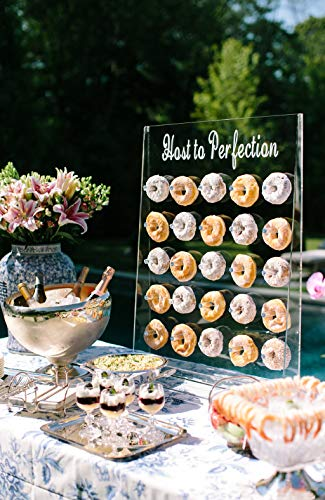 Donut Wall Display - Clear Doughnut Acrylic Stand by EstherO Design (Image #3)