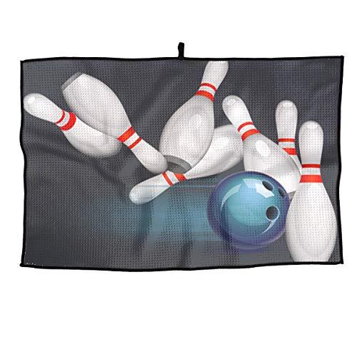Xint Play Bowling Custom Sports Towel Gym Golf Face Towel