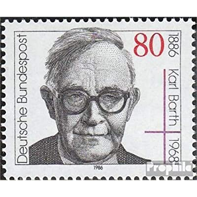 FRD (FR.Germany) 1282 (Complete.Issue) 1986 Karl Barth (Stamps for Collectors) Christianity: Toys & Games