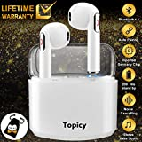 Best Microphone Earbuds - Wireless Earbuds with Charging Case,Bluetooth Earbuds with Mic Review