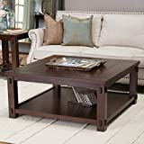 Large Square Coffee Table Belham Living Bartlett Square Coffee Table