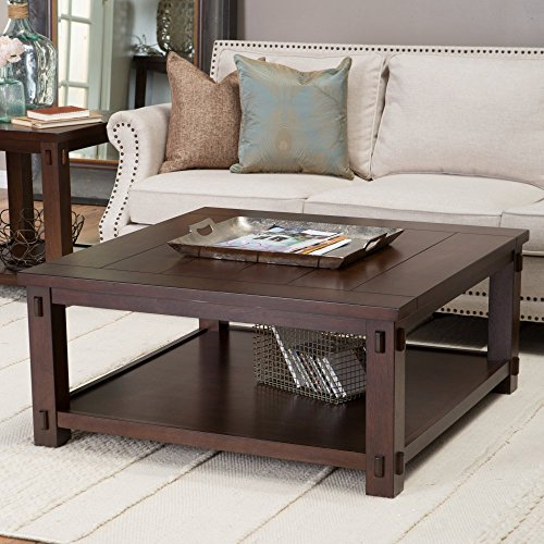 Belham Living Bartlett Square Coffee Table (Square Table Cocktail Large)