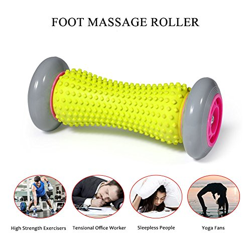 VGEBY Foot Massager Roller Heel Muscle Rollers Pain Relief Rollers for Plantar Fasciitis