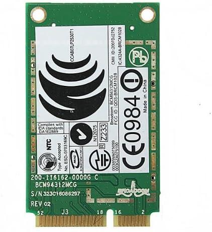 Wireless WiFi WLAN Card for DELL Broadcom DW 1395 BCM94312MCG