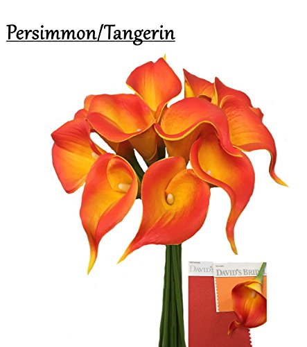 10pc set Real Touch calla lily-keepsake fragrance calla lily,2.25