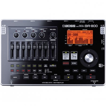 Boss BR-800 Portable 4-Track Digital Recorder by BOSS