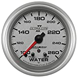 Auto Meter 7755 Ultra-Lite Pro II 2-5/8'' 100-260 Degree F Full Sweep Electric Water Temperature Gauge