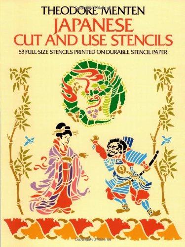 Japanese Cut & Use Stencils (Dover Stencils)