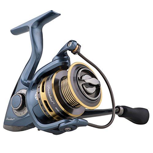 Pflueger PRESSP30X President Spinning Fishing Reel (Reel Fishing Spinning Spool)