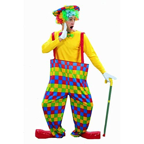 coloré du cirque costume de clown