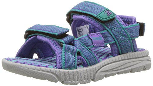 Kamik - Sandalias deportivas de Material Sintético para niño morado Violett (teal-bleu sarcelle) Violett (teal-bleu sarcelle)