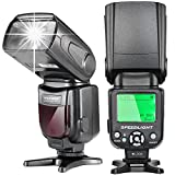 Neewer E-TTL Speedlite Flash with LCD Display, Hard Diffuser and Protecting Bag