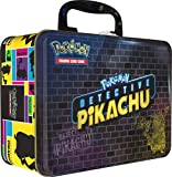 Pokemon TCG:Detective PikachuCollector Treasure Chest | 9 Booster Pack | A Collector's Pin | A Notepad & Sticker Sheet