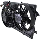 Radiator Fan Assembly for Ford Focus 00-02 w/A/C