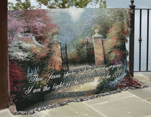 rden/Vrse Kinkade 60X50 Tt Multi Color 60X50 (Thomas Kinkade Bible Cover)