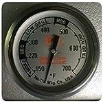 PK Grills Tel Tru BBQ Thermometer Kit PK99085