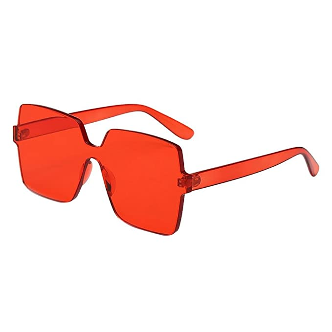 fd9bdf19cc23 Image Unavailable. Image not available for. Color  Women Man Vintage Big  Frame Sunglasses Eyewear Retro Unisex By Limsea