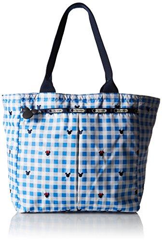 LeSportsac Everygirl Tote Handbag, Checks and (Check Nylon Tote Bag)