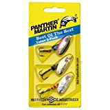 Panther Martin Best of the Best Bass Spinner Fishing Lure kit, Pack of 3