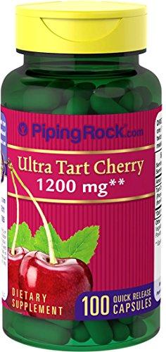 rt Cherry 1200 mg 100 Quick Release Capsules Dietary Supplement (Hot Cherry Pie)