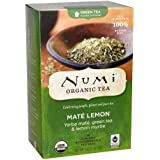 Numi Organic Tea Mate Lemon, 18 ct-18 ct