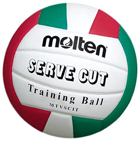 Molten Serve Cut - Balón de voleibol weiß/grün/rot: Amazon.es ...