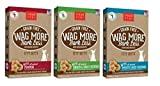Cheap Wag More Bark Less Grain Free Itty Bitty All Natural Treats For Dogs 3 Flavor Variety Bundle: (1) Wag More Bark Less Grain Free Itty Bitty Pumpkin, (1) Wag More Bark Less Grain Free Itty Bitty Smooth Aged Cheddar, and (1) Wag More Bark Less Grain Free Chic