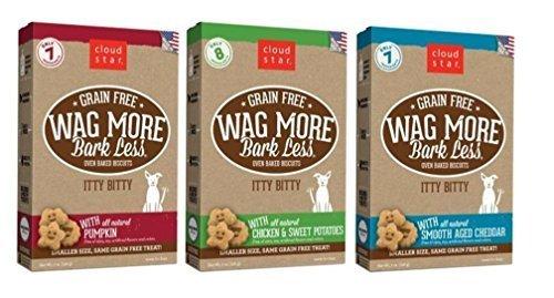 Wag More Bark Less Grain Free Itty Bitty All Natural Treats