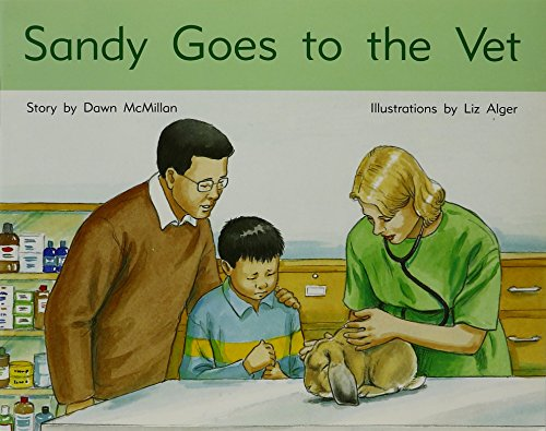 Book cover from Rigby PM Stars: Individual Student Edition Blue (Levels 9-11) Sandy Goes to the Vet by Dawn McMillan