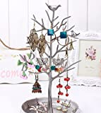 Inviktus-Silver-Birds-Tree-Jewelry-Stand-Display-Earring-Necklace-Holder-Organizer-Rack-Tower