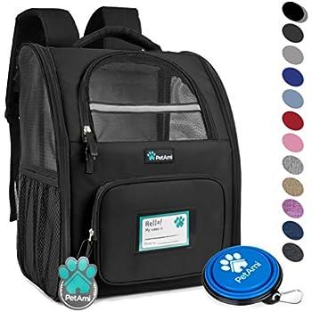 c777ef8ee35 Amazon.com   Tough Traveler Double-Decker Comfort Dog Backpack   Pet ...