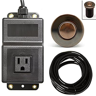 Single Outlet Sink Garbage Disposal Air Activated Switch