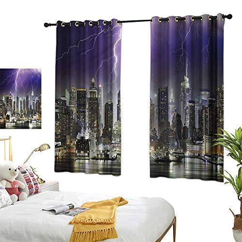 Curtain City,Storm Thunder in New York 63