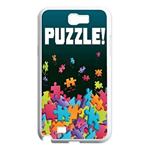 Plastic Durable Cases Ainhw Jigsaw Puzzle For Samsung Galaxy Note 2 N7100 Cover Cell phone Case