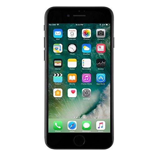 Apple iPhone 7 Plus, 128GB, Jet Black - Fully Unlocked (Renewed)