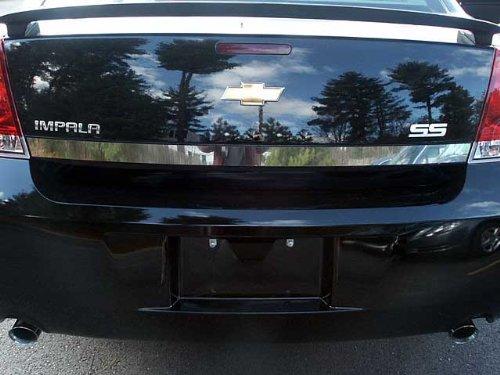 SGR46135 2 Pc: Stainless Steel Tail Light Logo Trim, 4-door QAA FITS IMPALA 2006-2013 /& IMPALA LIMITED 2014-2017 CHEVROLET