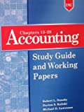 img - for Accounting: Study Guide and Working Papers (Chapters 13-28) book / textbook / text book
