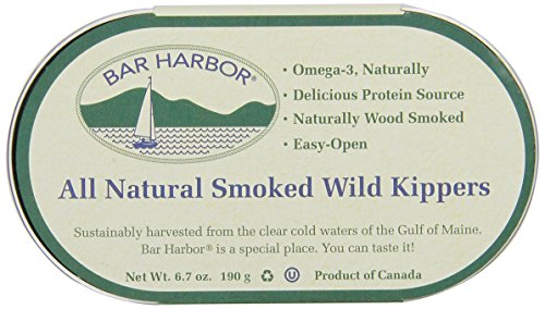 Bar Harbor Wild Smoked Kippers, 6.7 Ounce (Pack of - Live Oysters