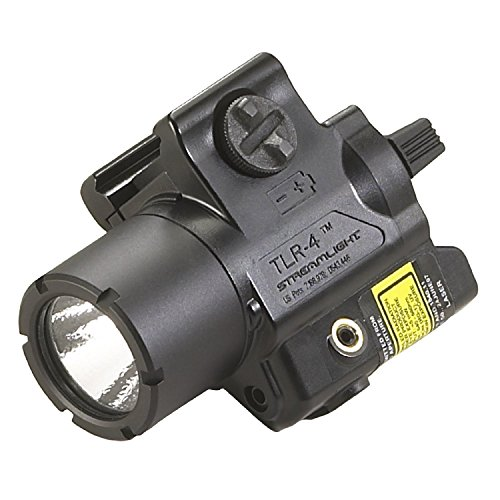 Streamlight TLR-4 Tac Light with Laser, Black by Streamlight