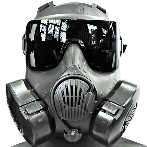M50 Gas Mask Lens Black Smoke Aftermarket for sale  Delivered anywhere in USA