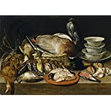 Canvas Prints Of Oil Painting ' Peeters Clara Bodegon 1611 ' , 8 x 11 inch / 20 x 28 cm , High Quality Polyster Canvas Is For Gifts And Dining Room, Kitchen And Living Room Decoration, giant