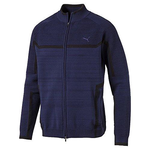 (PUMA Golf Men's 2018 Evoknit Jacket, Peacoat, XX-Large)