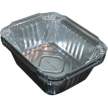 Amazon Com Aluminum Drip Pans Foil Liners Grease Trays