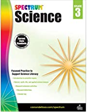 Carson Dellosa – Spectrum Science, Focused Practice to Support Science Literacy for 3rd Grade, 144 Pages, Ages 8–9 with Answer Key