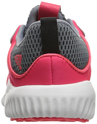adidas Kids' Alphabounce Sneaker, Shock Red/White/Tech Grey Fabric, 6 M US Infant by adidas (Image #2)